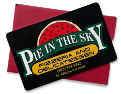 Pie in the Sky Gift Cards